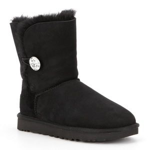 Size 7 UGG® Bailey Button Bling Boots